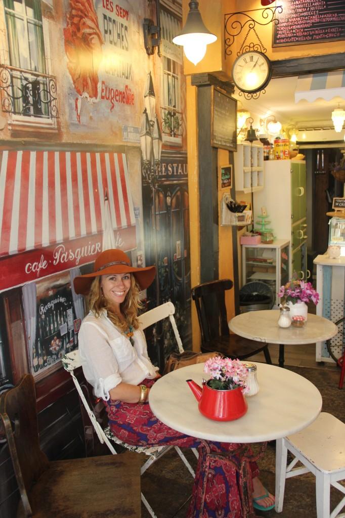 Kate in Madrid