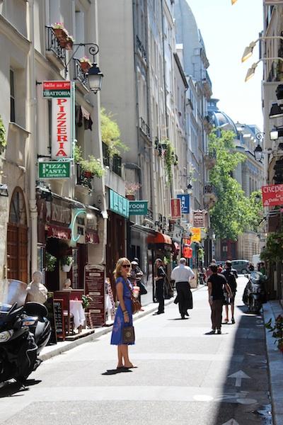 On a tresure hunt in Paris